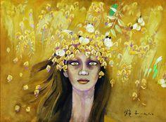 고 천경자 화백의 작품을 모아봤습니다. 꽃과 여인의 화가로 불리는 천 화백은 2003년 뇌출혈로 쓰러진 후 거동을 하지 못한 것으로 알려졌으며, 미국 뉴욕 맨해튼에 있는 큰딸 이씨의 간호를 받아온 것으로 알려졌다.  천 화백의 ''황금의 비'. 연합뉴스