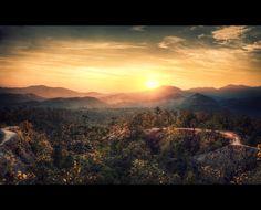Pai Canyon Sunset, Pai, Thailand by Eric Edouard Amilhat, via Pai Thailand, Northern Thailand, Thailand Travel, Asia Travel, Places To Travel, Places To See, Thailand Destinations, Travel Destinations, Thailand Adventure