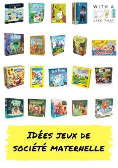Les jeux de société préférés des enfants de maternelle/ plus sur withalovelikethat.fr Bazar Bizarre, Photo Wall, Lifestyle, Frame, Kids, Inspiration, Cooperative Games, Preschool, Picture Frame