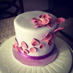 Mum's ube birthday cake