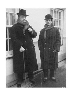 Giclee Print: Serge Diaghilev and Léonide Massine, C.