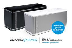 I entered the @Crutchfield Sweeps to win 1 of 10 @rivanation TurboX BT speakers. You can too – #GGGEntry #win