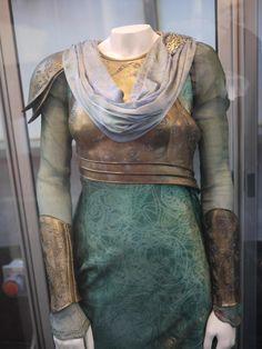 THOR: THE DARK WORLD. Frigga's costume. Costume designer Wendy Partridge