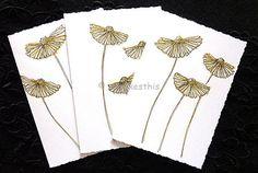 Handmade original ink drawing Blank Note Cards Invitation
