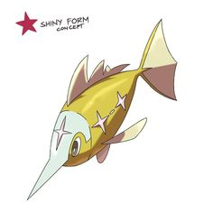 ⏺⏺PILAGO REGION POKEDEX⏺⏺ . . An entry made by @faekemon (swipe to see more)  This one should've been posted last week tho . . . . #84 SWORSNIP Swordfish Fry Pokémon HT: 0.50m WT: 10.90kg TYPE: Water ABILITY: Swift Swim . . INFO: It can move really fast and run from predators quickly. This Pokémon are known to be rare in Pilago Region and they are only seen every end of the year where Pilago Region has colder climate. They also sometimes leave scratches on boats due to their sharp metal…