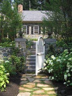 jonathan alderson landscape architects, PA Magical entry.