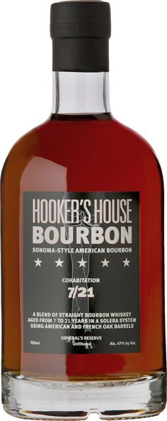 Hooker's House General's Reserve Solera-Aged Cohabitation Bourbon | @Caskers