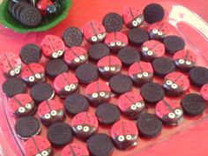 Make It Your Damn Self! Cute ladybug snacks (and more ideas) for kids b-day party