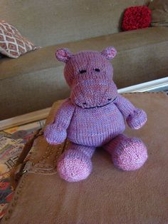 Ravelry: Hippo pattern by Susan B. Anderson