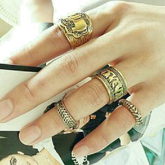 Elephant Ring Set Brand new without tags!  Range in size from 4-8. Ships same or next day! Jewelry Rings