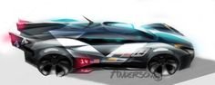 Cadillac Concept Design Sketch by Scott Anderson (http://www.coroflot.com/scacore/)