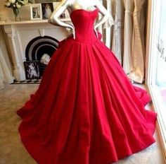 Red prom dresses,Custom prom dress,Sweetheart prom dress,Neckline prom dresses,Long Ball Gown,Prom Dresses,15051325