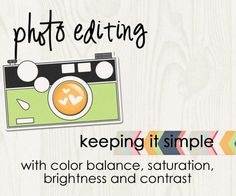 No matter which photo editing software you use, there are some basic features in editing your photos.