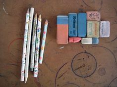 pencils and erasers | Flickr - Photo Sharing!