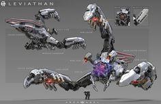 ArtStation - Leviathan Concept, bryant Koshu