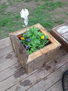 DIY Pallet #Planter Boxes | Pallet Furniture