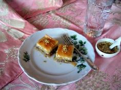 Turkish Baklava  Baklava is of Turkish origin and is the world's favourite Turkish Dessert. It's extremely delicious.  I have made this many times. It takes a while but it's easy to make once you get the hang of it. And it's so goood!