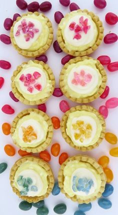 Adorable for an Easter get-together—Jelly Bean Tartlets (Smart School House)