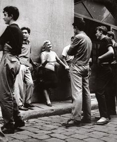 Joan Colom, in the red-light district of Barcelona's famous Barrio Chino Vintage Pictures, Old Pictures, Old Photos, Robert Doisneau, London History, British History, Vintage London, Old London, London Life