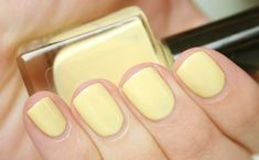 More yellow nail inspiration. I love yellow with cool undertones, but it's so hard to find.
