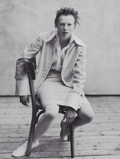 Karen Elson, Peter Lindbergh, Vogue Italia