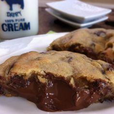 Hersheys Kiss inside chocolate chip cookie dough- picky palate Looks SUPER YUMMY!