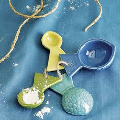 Looking for coastal themed measuring spoons? These make sure you season your fish just right!