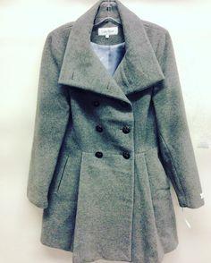 #CalvinKlein #Coat   Size 6   $84! Call for more info (781)449-2500. #FreeShipping #ShopConsignment  #ClosetExchangeNeedham #ShopLocal #DesignerDeals #Resale #Luxury #Thrift #Fashionista