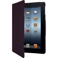 FlipView : Étui iPad Air élégant rapidement transformable en support offrant une stabilité parfaite :  Stabilité ultime en mode paysage ou portrait. Protection fine et élégante. Couleur deux tons. Finition intérieure douce. Réf. THD039EU - Noir. Réf. THD03902EU - Cerise.