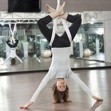 Aerial Yoga, Kangoo Jump and Other Bizarre Fitness Classes