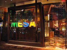 Bobby Flay's Mesa Grill - Las Vegas.  Wondereful dining experience everytime... coffee rubbed filet and the Spice rubbed pork loin, sweet potato tamale are the best ! Great mojitos as well.