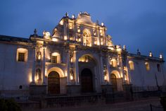 Cathedral de Santiago, Guatemala  I took this same picture when I was there!