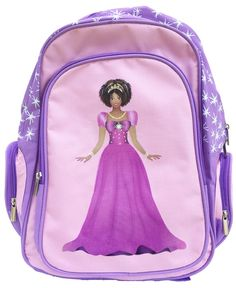 www.MochaProducts.com, Black Princess Backpack Black Children's Books, Childrens Books, African, Backpacks, Princess, Bags, Christian, Fashion, Handbags