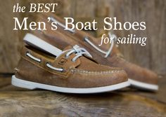 A while ago we did a post about Women's Boat Shoes. Now we have the Men covered. Get Wet Sailing's How to Find the Best Men's Boat Shoes for Sailing. 80s Fashion, Fashion Shoes, Best Boat Shoes, Best Boats, Getting Wet, A Good Man, Sperrys, Sailing, Good Things
