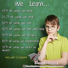 We learn... pmstudentservices.org