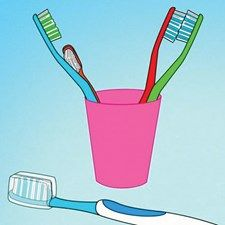 KEEPING YOUR TOOTHBRUSH CLEAN will help you avoid sickness and infection! Check out these simple tips for better brush hygiene. http://www.wikihow.com/Keep-a-Clean-Toothbrush
