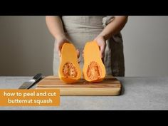 Here's a tutorial on how to peel and cut butternut squash into cubes! For recipe inspiration, check out these healthy dishes: Butternut Squash Baked Mac & Ch. Butternut Squash Curry, Bake Mac And Cheese, Baked Squash, White Cheddar Cheese, Baked Mac, Healthy Dishes, Quinoa Salad, How To Cook Pasta, Vegtable Noodles