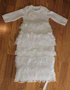 Blessing dress...too cute not to pin, even though my baby is 10
