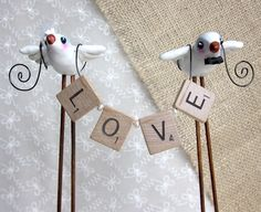 wedding cake topper. Etsy, the quirky corncrib