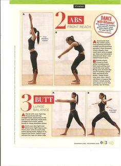 Rihanna Dance Workout Part 2