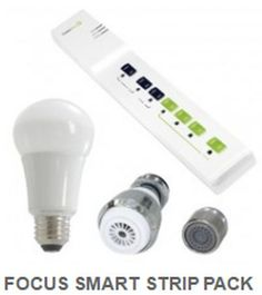 Focus on Energy Free LED Bulbs, Power Strip and Shower Head - Wisconsin Only