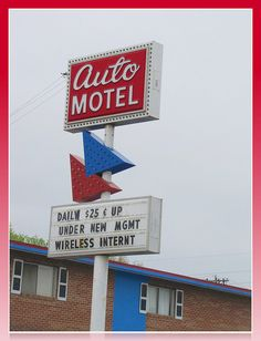 Auto Motel -    Old US81, Wichita, Kansas.