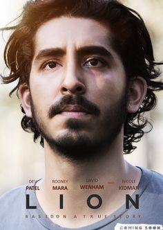 Poster - Lion Film Uptodate - Lion is an original drama genre film Hollywood. This film is an adaptation of an incredible true story Film Lion, Lion Movie, Film D'animation, Film Books, Film Serie, Cinema Film, Drama Film, See Movie, Movie List