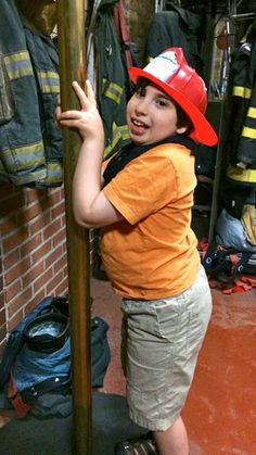 Firefighters are some of the warmest, most welcoming  people ever, as I'm discovering through my son's obsession