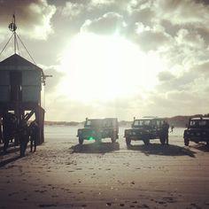 4x4beach drive op het strand van Terschelling