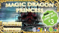 """Magic Dragon Princess"" Has Been Fully Funded On Kickstarter  http://htl.li/24JW303Edr6"