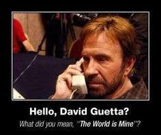 For my son who loves Chuck Norris...