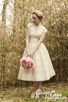 closet case vintage wedding dress