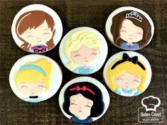 Disney Cookies, Diy Crochet Projects, Galletas Cookies, Princesas Disney, Cute Food, Aladdin, Cookie Decorating, Cake Pops, My Little Pony