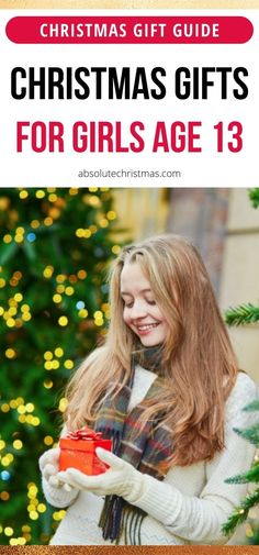 Are you looking for the best Christmas presents for 13 year old girls? We hand picked a ton of lovely gift ideas, awesome gifts that will make her day for sure! Christmas Presents For 13 Year Olds, Christmas Gifts For Girls, Christmas Gift Guide, Christmas Fun, Teenage Girl Gifts, Awesome Gifts, Best Gifts, Gift Ideas, Girls Christmas Presents